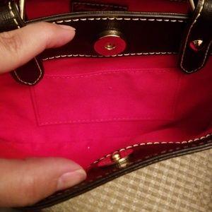 Dooney & Bourke Bags - Dooney Bourke Saffiano Mini Barlow Tmoro